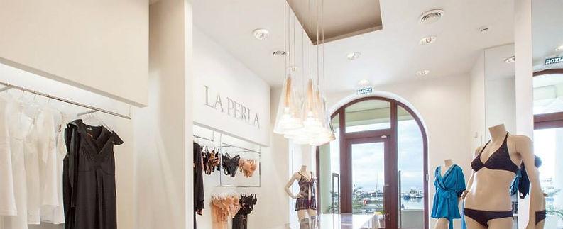 Потолочное освещение Verluisant в бутике La perla