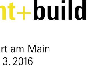 Light+Building-2016 trade fair in Frankfurt