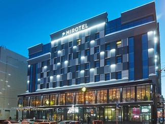 Реализованный проект: Освещение гостиничных номеров «Миротеля» светильниками с абажурами Verluisant