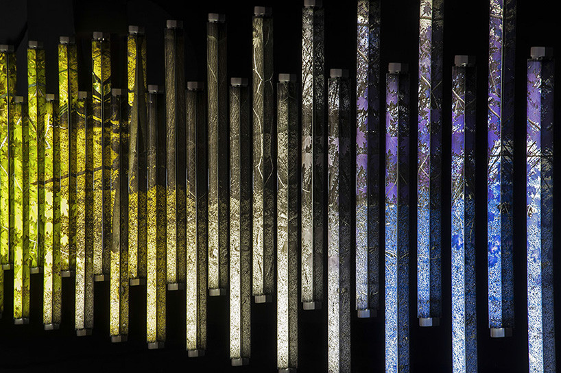 experiments with composition in light emerges installations