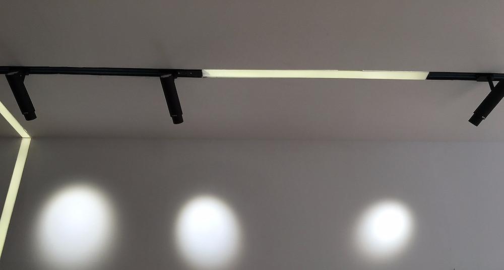 Трековый светильник Verluisant с регулируемым углом рассеивания