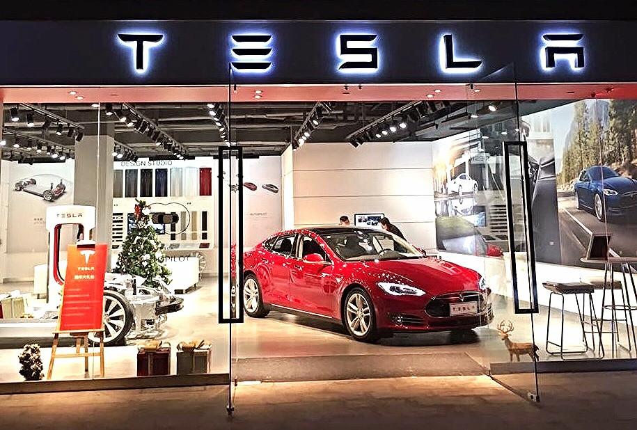 Verluisant Lighting Tesla Motors Store, Guangzhou