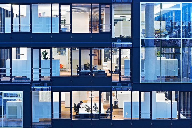 Освещение офисных зданий