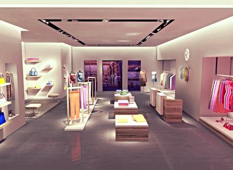 3 кейса создания общего освещения для магазина одежды