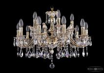 Люстра Bohemia Ivele Crystal 1703/12+4/225A GW Bird