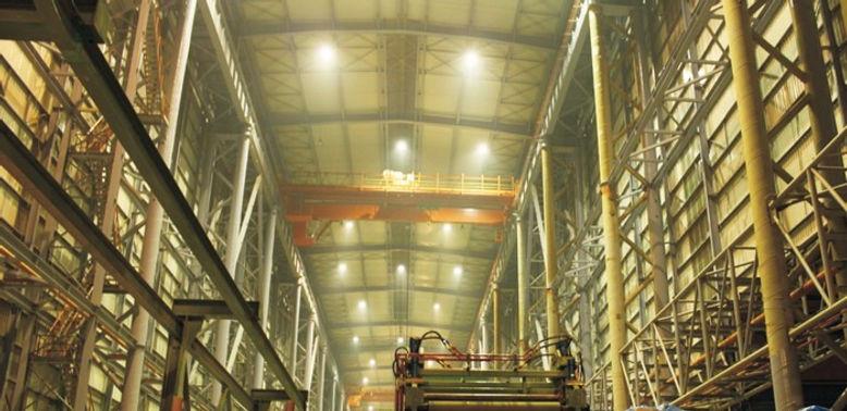 Проект освещения промышленного объекта светильниками Verluisant