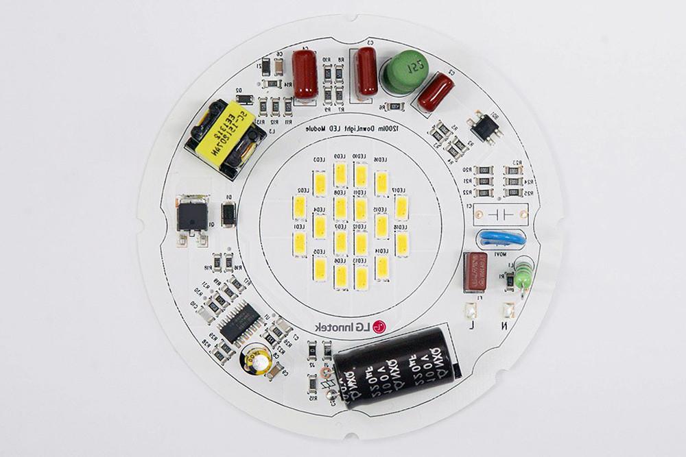 Технология DOB в промышленном светильнике