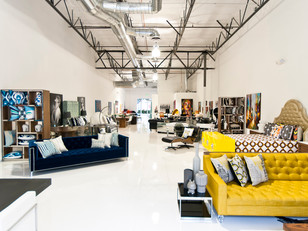 Three ways to light a furniture store