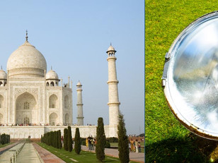 New lighting is damaging Taj Mahal