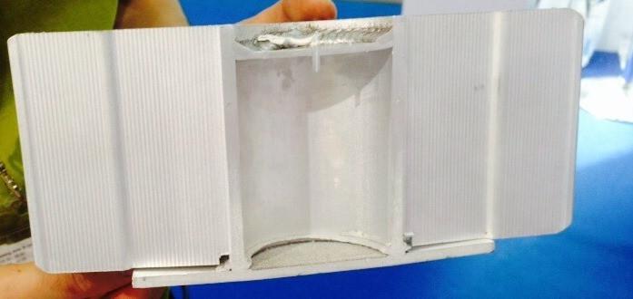 промышленный светодиодный светильник колокол с жидкостной системой охлаждения