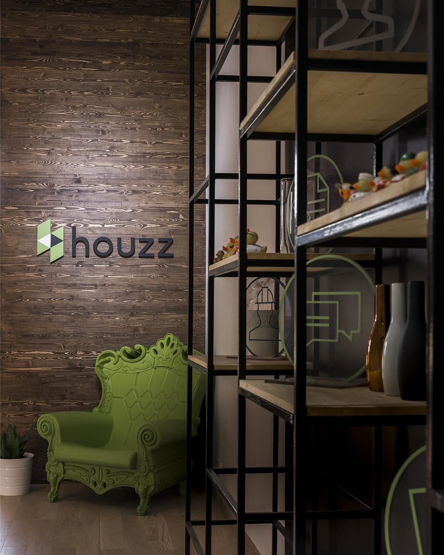 освещение логотипа Houzz