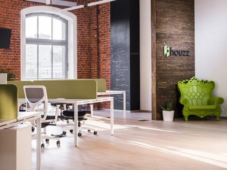 Мы выполнили проект освещения офиса российского представительства компании Houzz