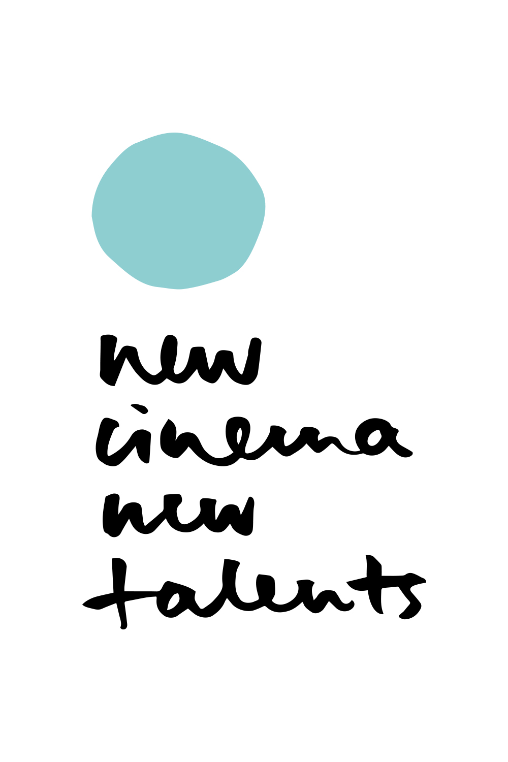 new cinema new talents logo 2019