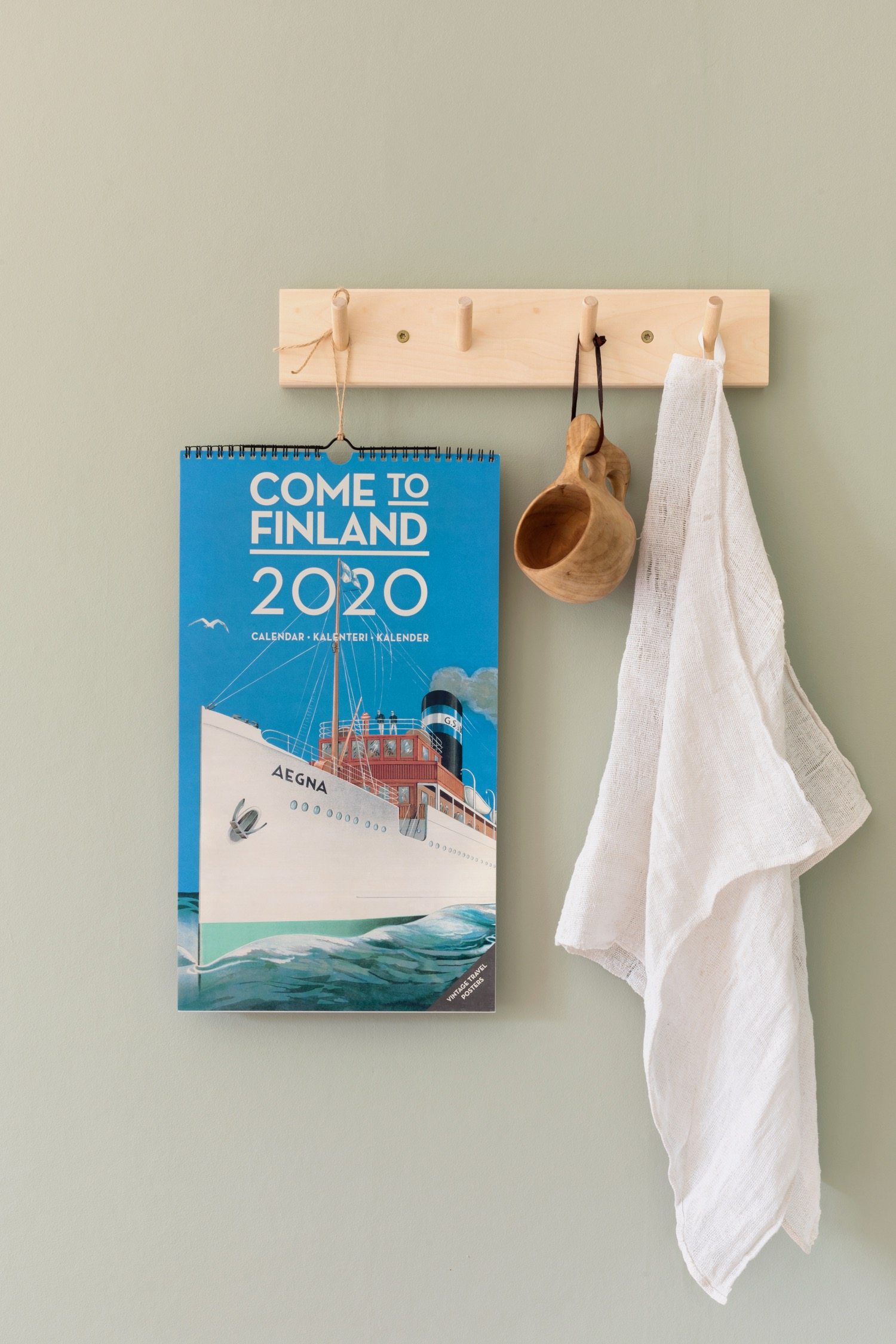 Wall calendar for Come to Finland