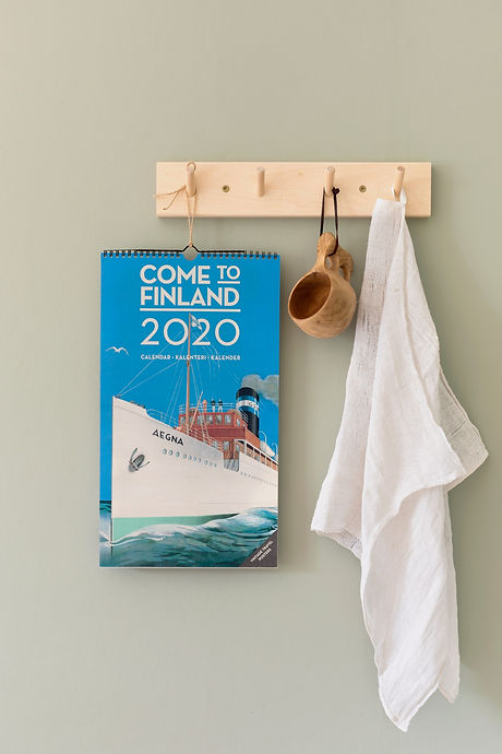 Come to Finland big wall calendar 2020