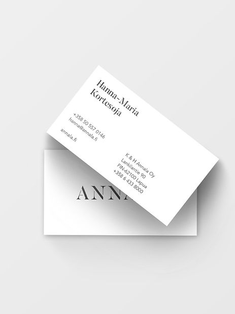 Annala business cards