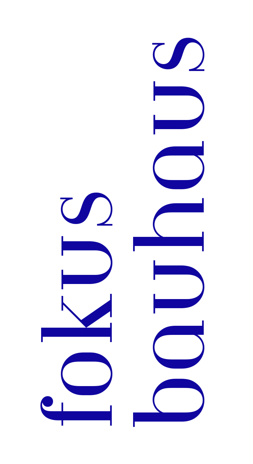 Fokus Bauhaus visual identity