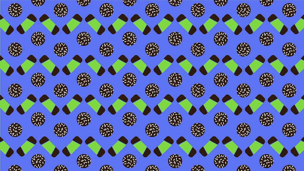 FIKA print pattern