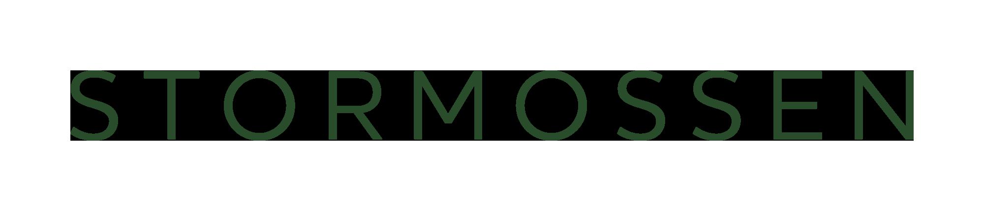Stormossen's renewed logo
