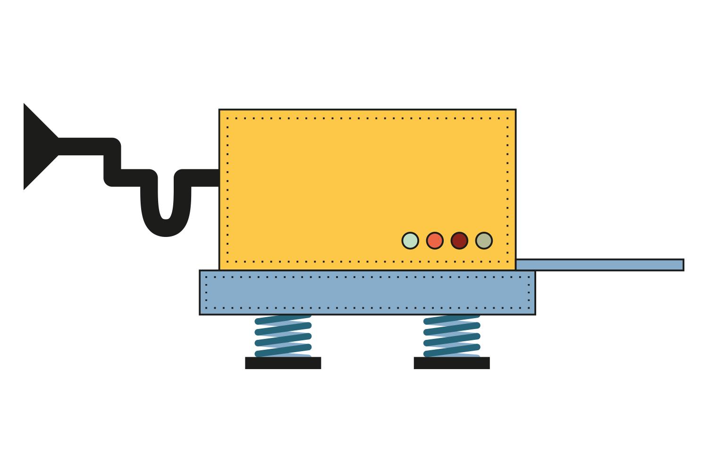 TangentA machine illustration