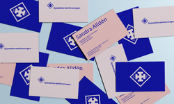 Visual identity for a non-profit association for Swedish speaking nurses in Finland