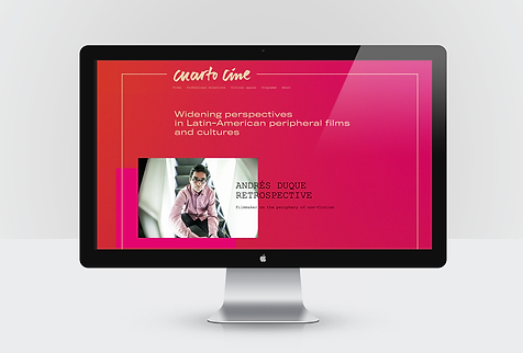 Cuarto Cine website