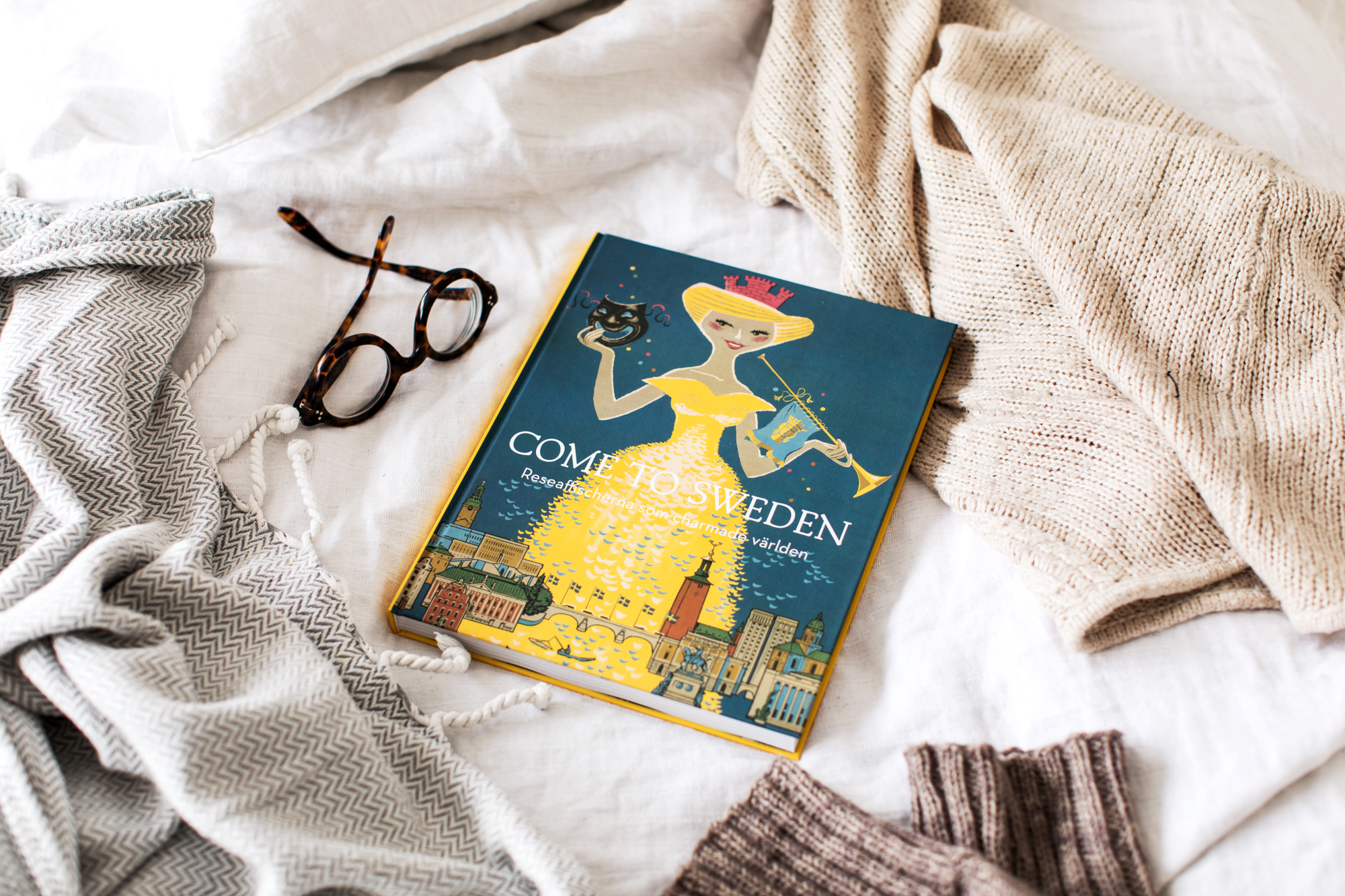 The Come to Sweden book