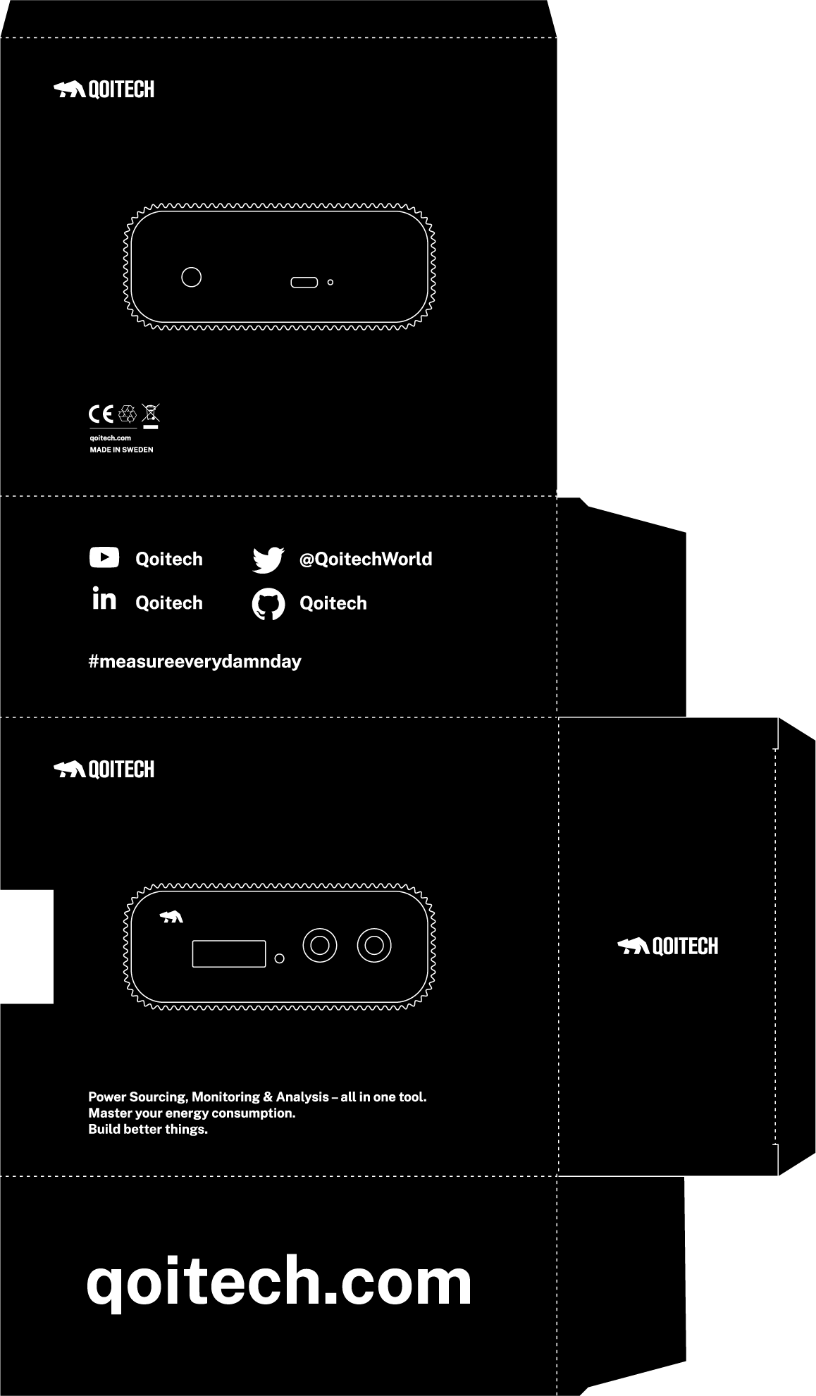 Otii Arc Packaging Layout