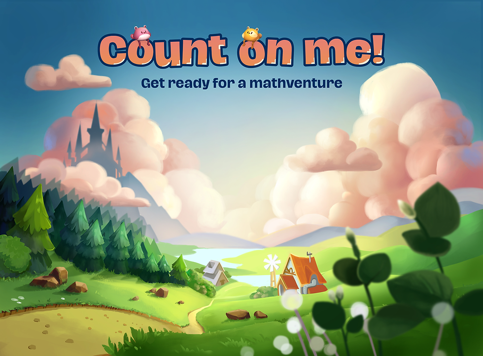 Count on me! Get ready for a mathventure