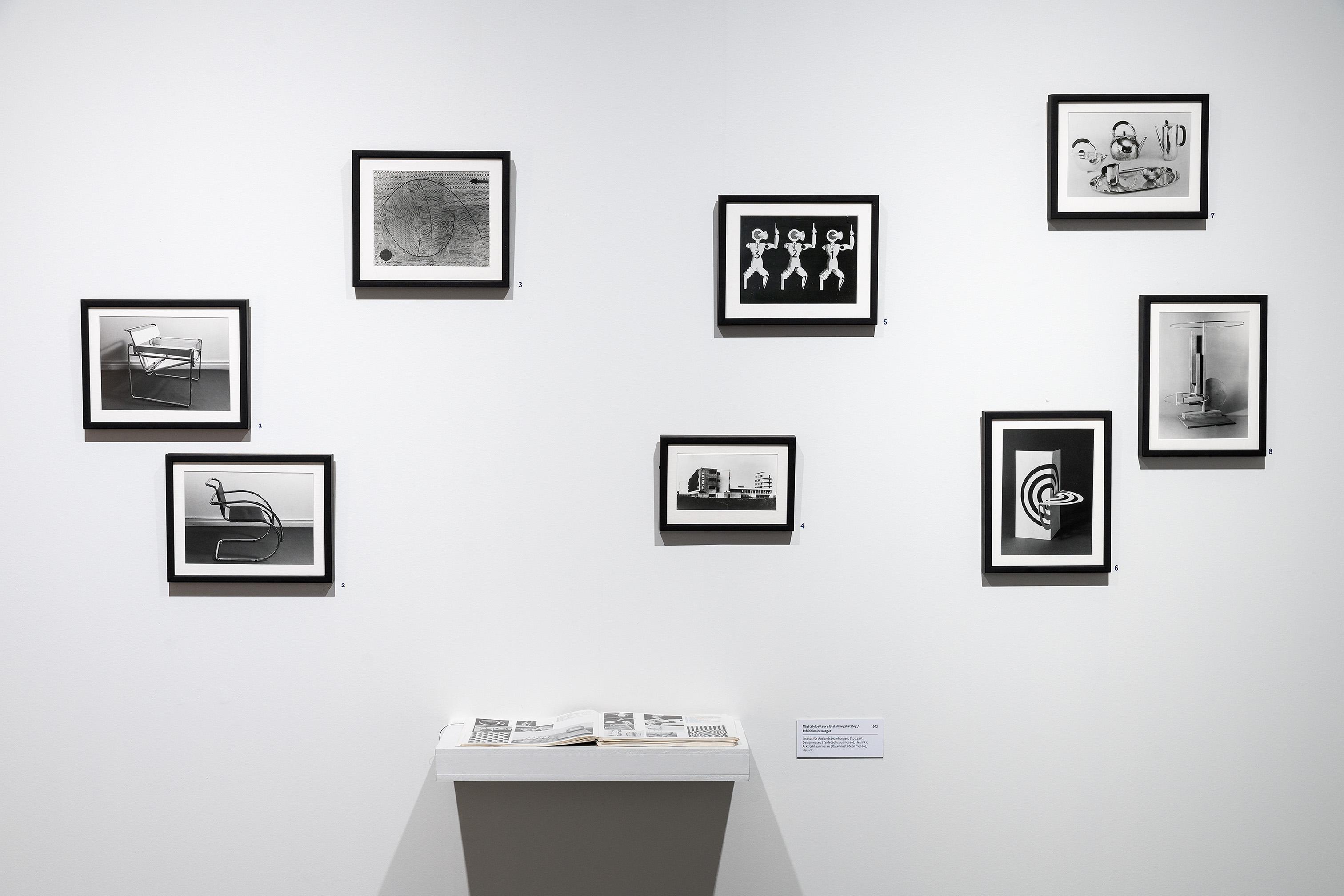 Fokus Bauhaus exhibition at Helsinki Des