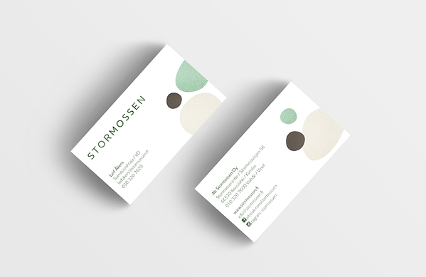 Stormossen business cards