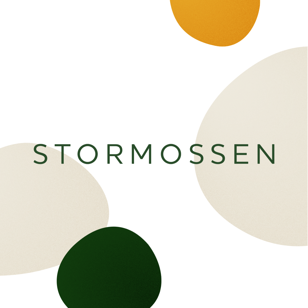 Stormossen visual identity