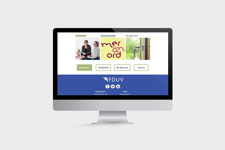 FDUV website scroll down 1