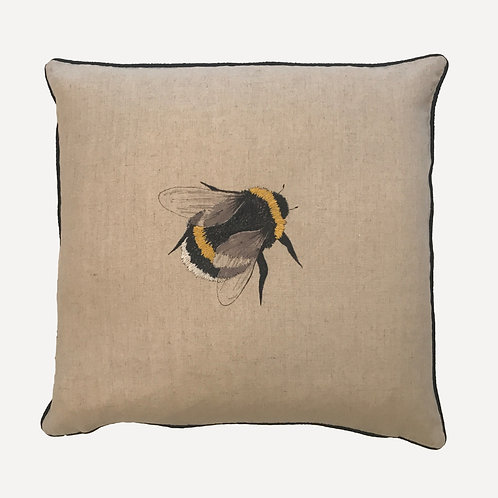 Queen Bee Embroidered Cushion Cover