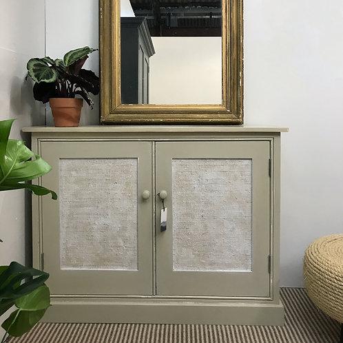 Really Useful Cupboard with Raffia Doors