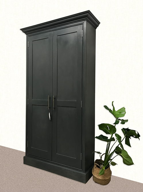 Tall Really Useful Cupboard in colour Down Pipe