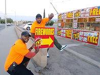 High Desert Phoenix Fireworks Stand