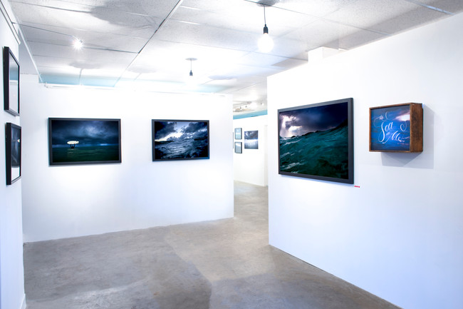 Installation View of The Sea and Me (2014)