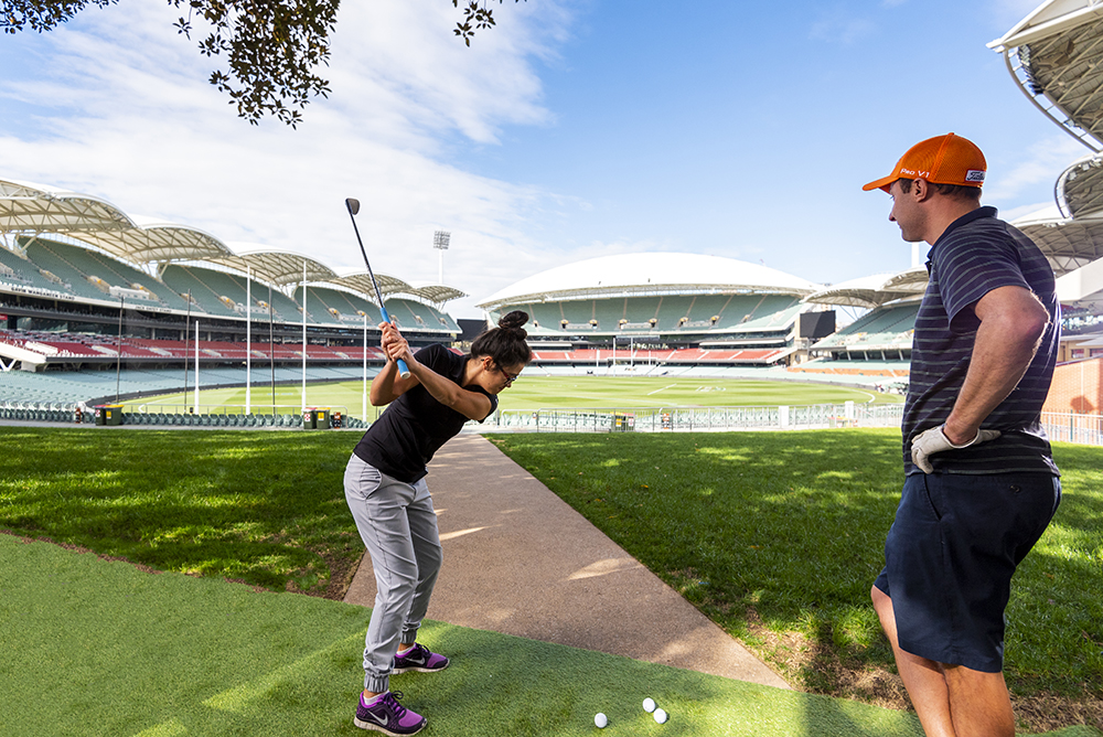 Client | Adelaide Oval Stadium Golf