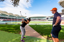 Client | Adelaide Oval Stadium Golf