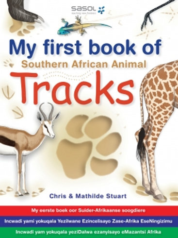 My First Book: SA Animal Tracks