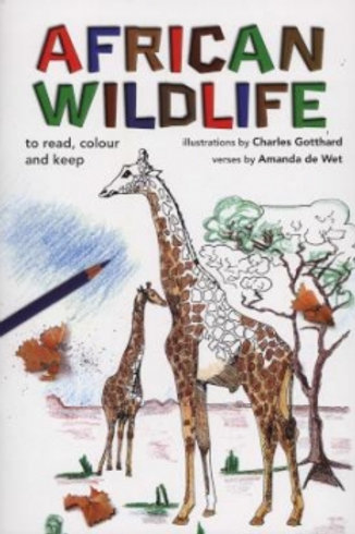 African Wildlife to Read, Colour & Keep