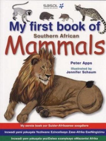 My First Book: SA Mammals