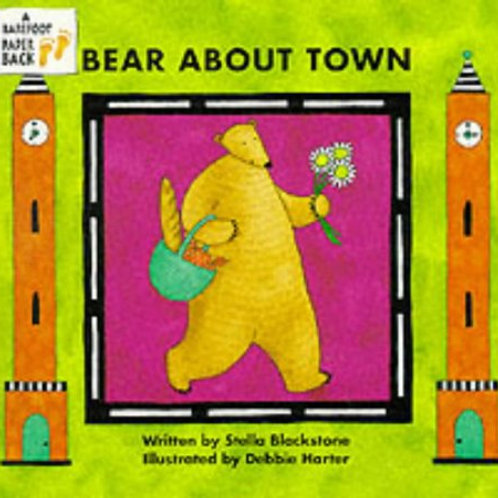 Bear About Town Board Book
