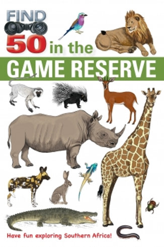 Find 50 in Game Reserve Southern Africa