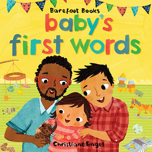 Babys First Words Board Book