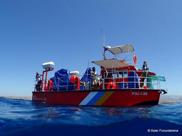 """Support Research Vessel """"Isla La Graciosa"""""""