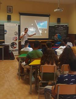 Talk given at a school in Gran Canaria