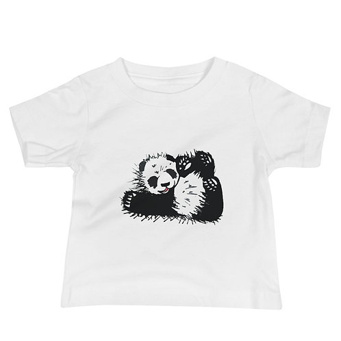 Panda Baby Jersey Short Sleeve Tee