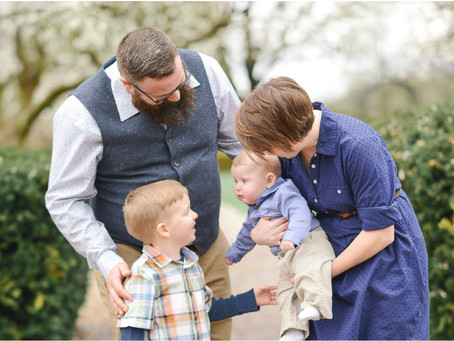 Dillaman Family Session | Ault Park